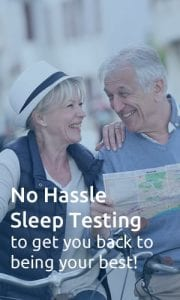Home sleep testing from Vitalistics makes it easy to get tested for sleep apnea from the comfort of your own home.